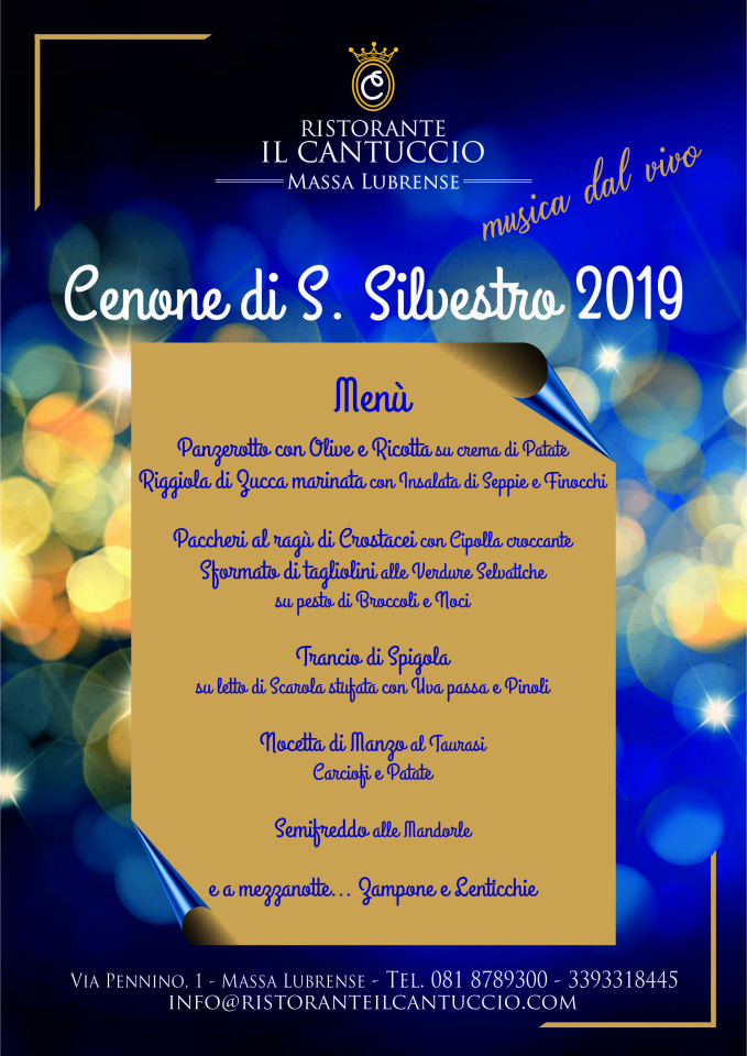 New Year S Eve Dinner 2019 Restaurant Massa Lubrense